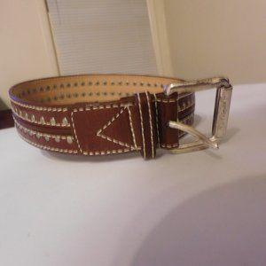 Michael Kor's Leather Studded Women's Belt  EUC